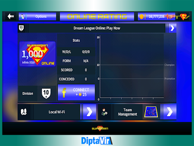 DLS 18 MOD Superman Base APK V5.04 Unlimited Coins MOD By Diptavir