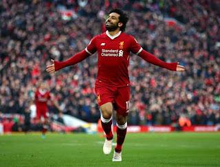 ليلة تاريخية  , سوبر هاتريك محمد صلاح و اسيست,الهدف 28 ويتصدر قائمة الهدافين , مباراة ليفربول وواتفورد 5-0