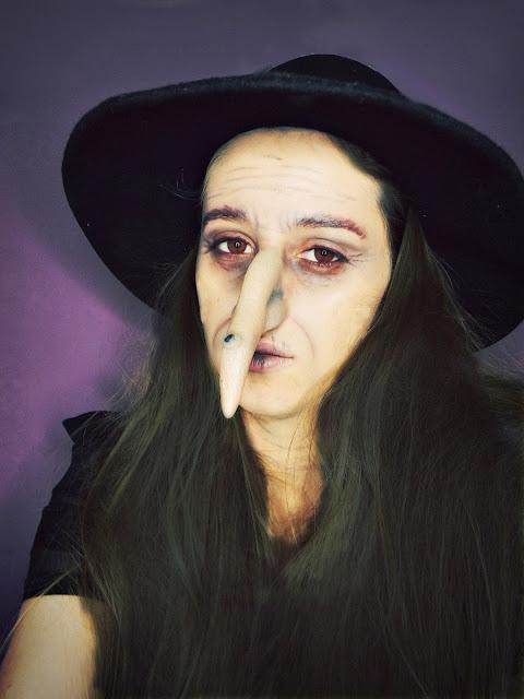 charakteryzacja na czarownicę