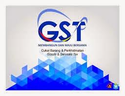 GST 2015 Malaysia