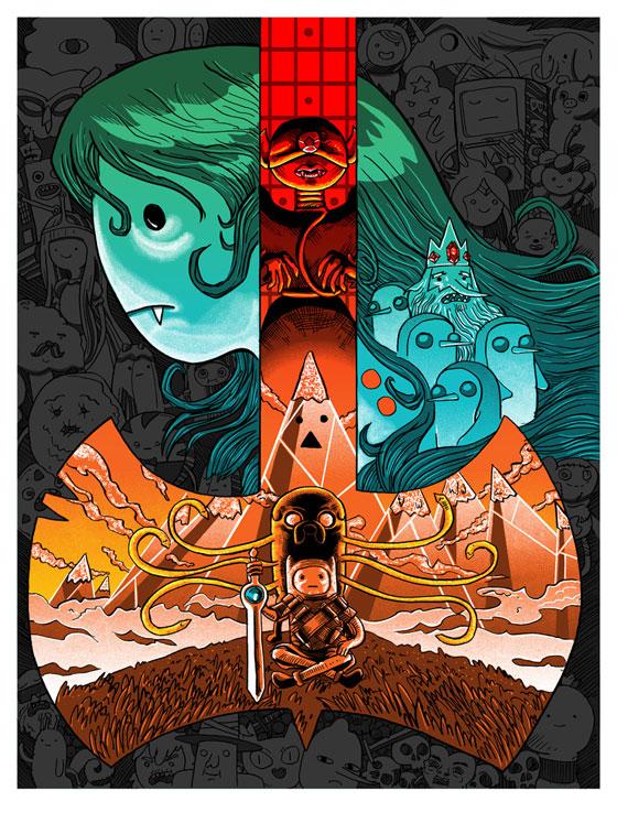 Inside The Rock Poster Frame Blog Tim Doyle Amp Glenn Barr