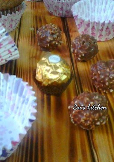 Cupcake ferrero con crema de nutella de merengue suizo!