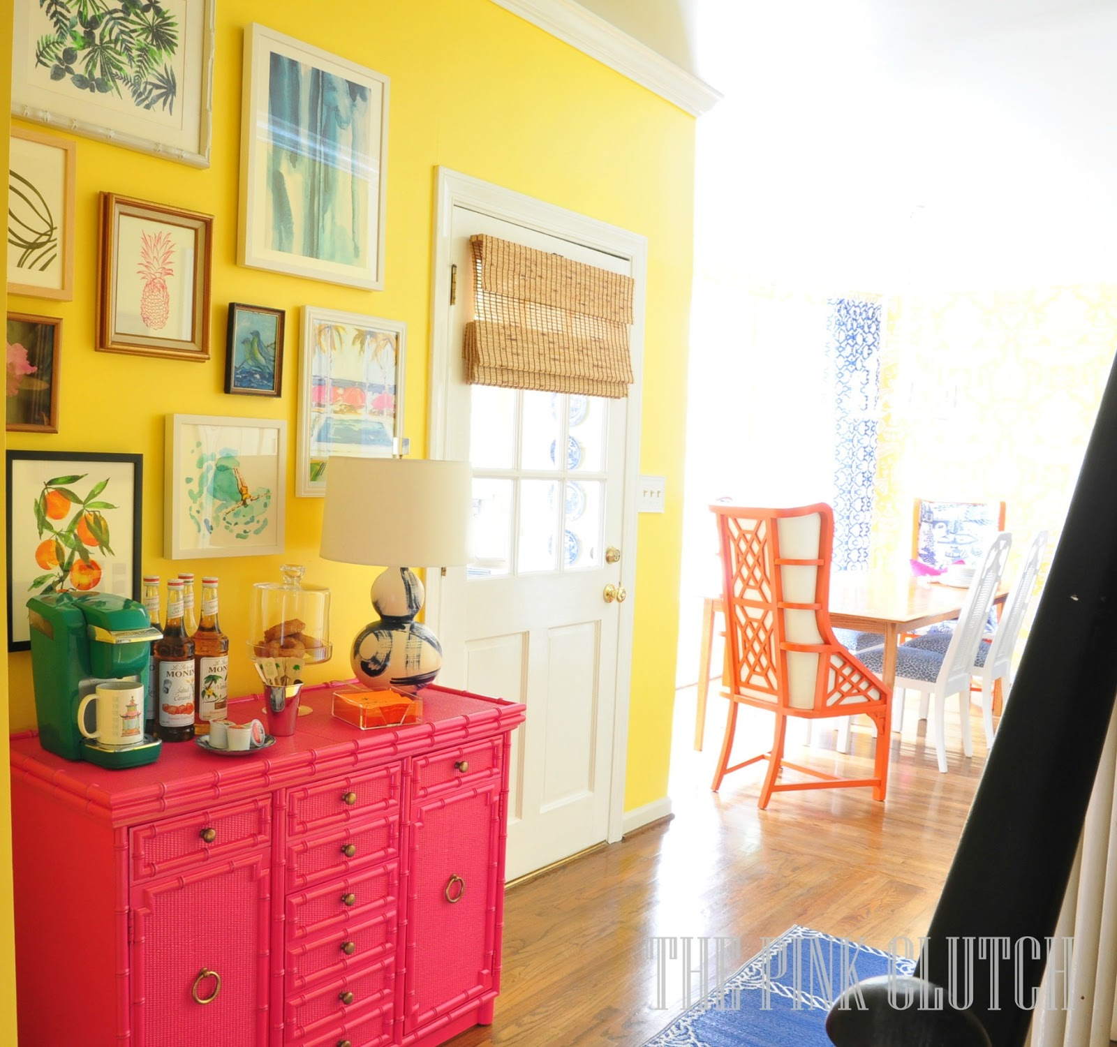 One Room Kitchen Interior Design In Mumbai: The Pink Clutch ...: One Room Challenge ... Kitchen Reveal