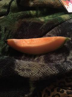 Dehydrating cantaloupe, dried cantaloupe