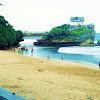 Bentangan Pasir Putih Pantai Krakal Yogyakarta