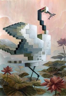 Ilustración con cubos