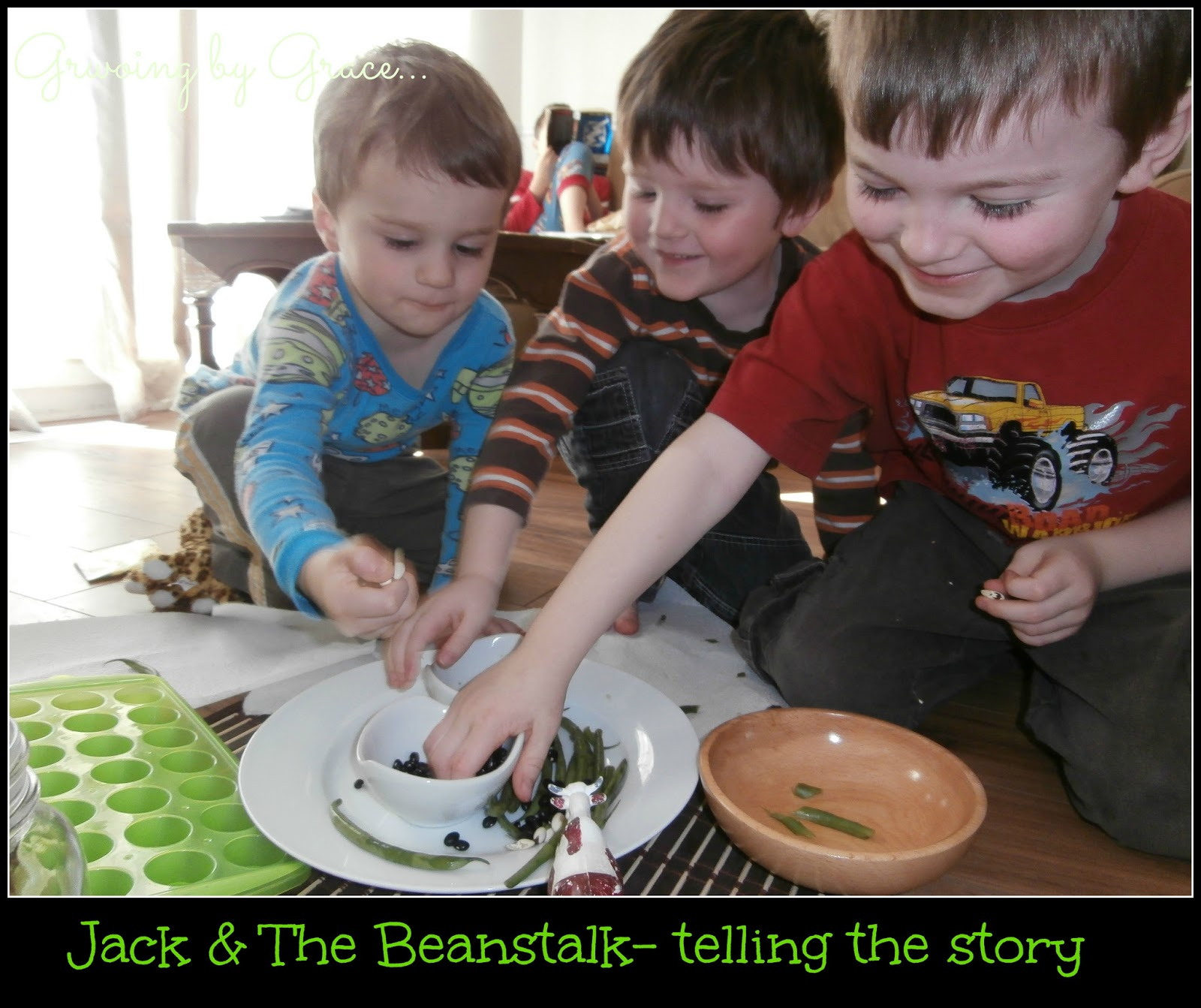 Growing By Grace Jack And The Beanstalk