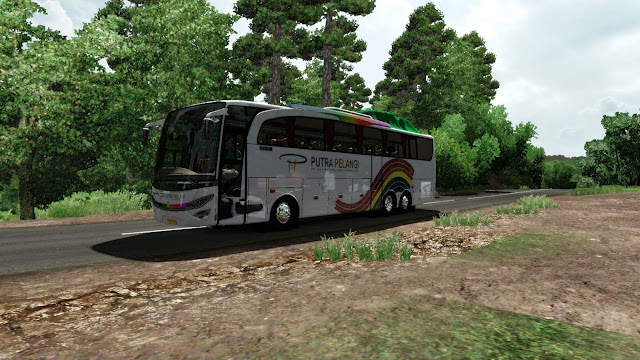 Jetbus HD2+ MB 2542 Tronton ETS2