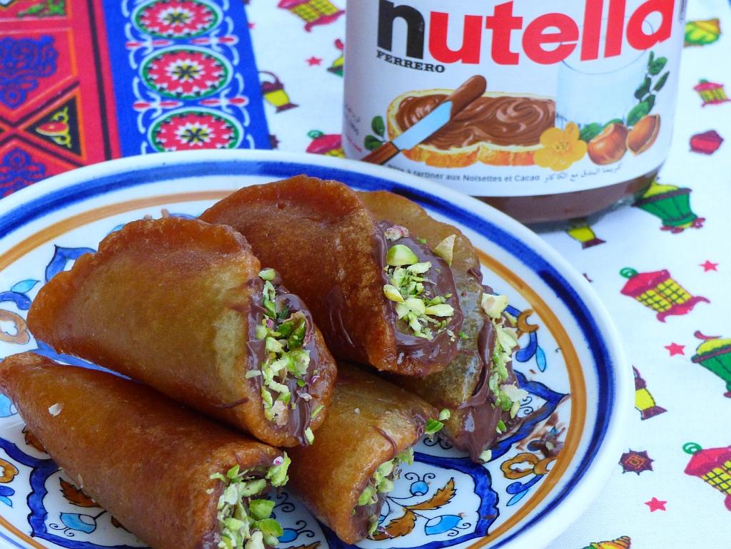 Neue Katayef-Ideen mit Nutella und Sahne | Ägyptische Rezepte
