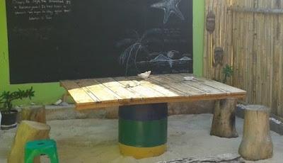 tempat santai homestay jojo karimun jawa