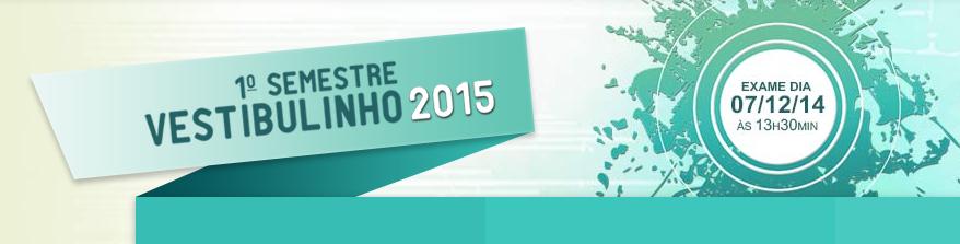 Analder: Vestibulinho ETEC 1º Semestre 2015