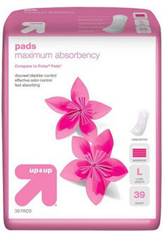 The Target Saver: FREE Sample of Up & Up Adult Incontinence