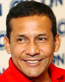Imagen de Ollanta Humala con linda sonrisa