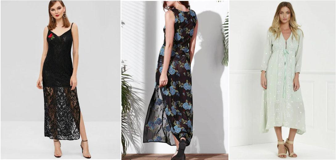 inspiração vestido bordado