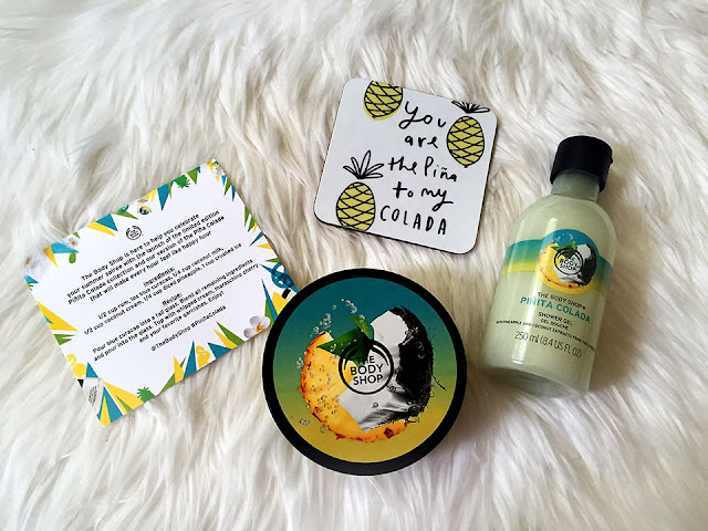 THE BODY SHOP Pinita Colada collection, The body shop, skincare, body butter, shower gel, tropical fruits, fruity fragrance, tropical fragrance, tropical smell, beauty, beauty review, beauty blog, beauty blogger, red alice rao, redalicerao