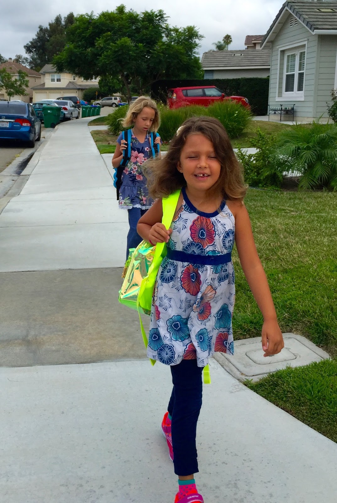 First Day Of 1st And 4th Grade