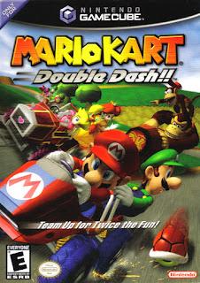 Portada del disco de Nintendo Game Cube de Mario Kart double dash!