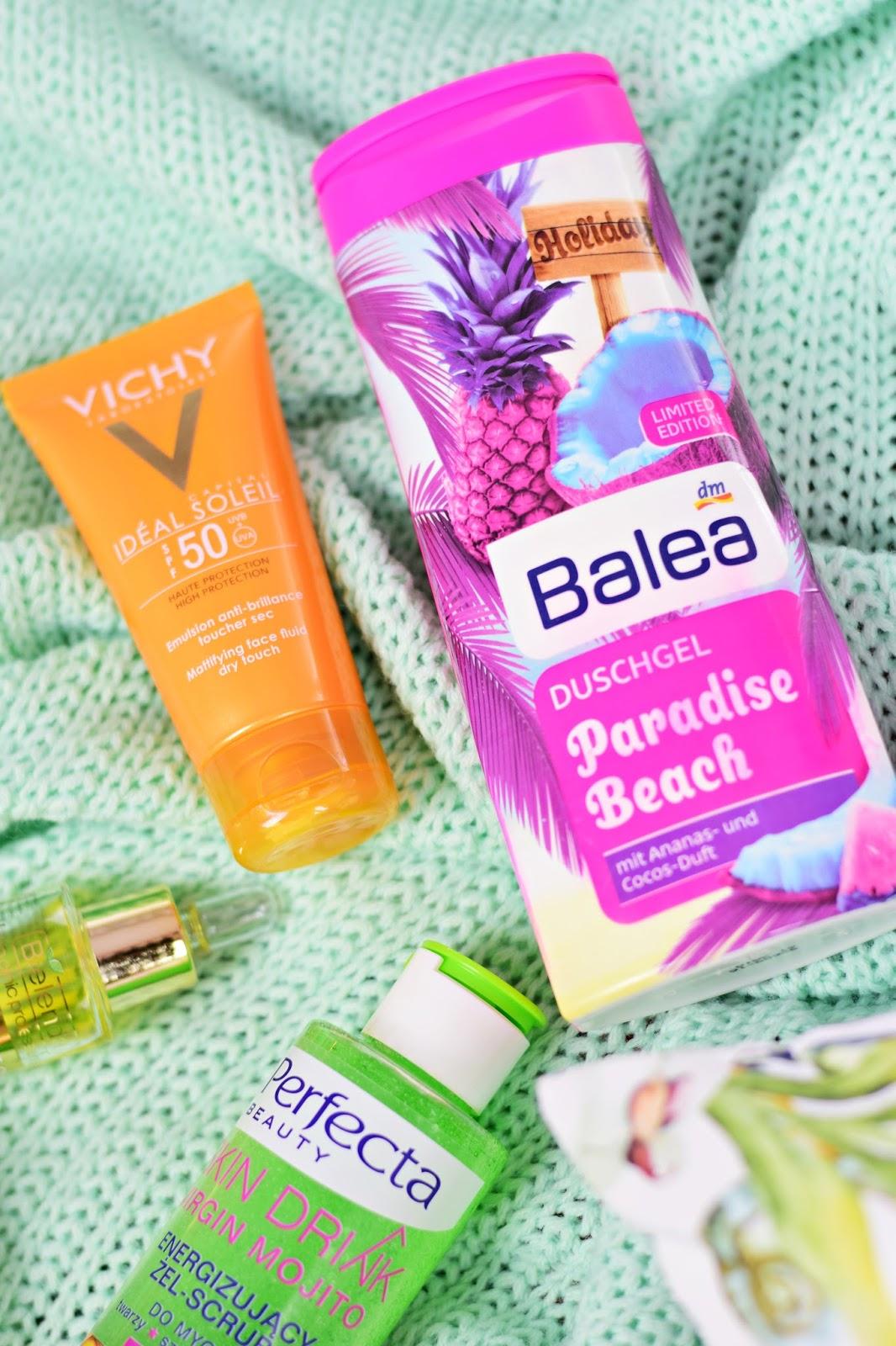 vichy_spf50_balea_żel_paradise_beach
