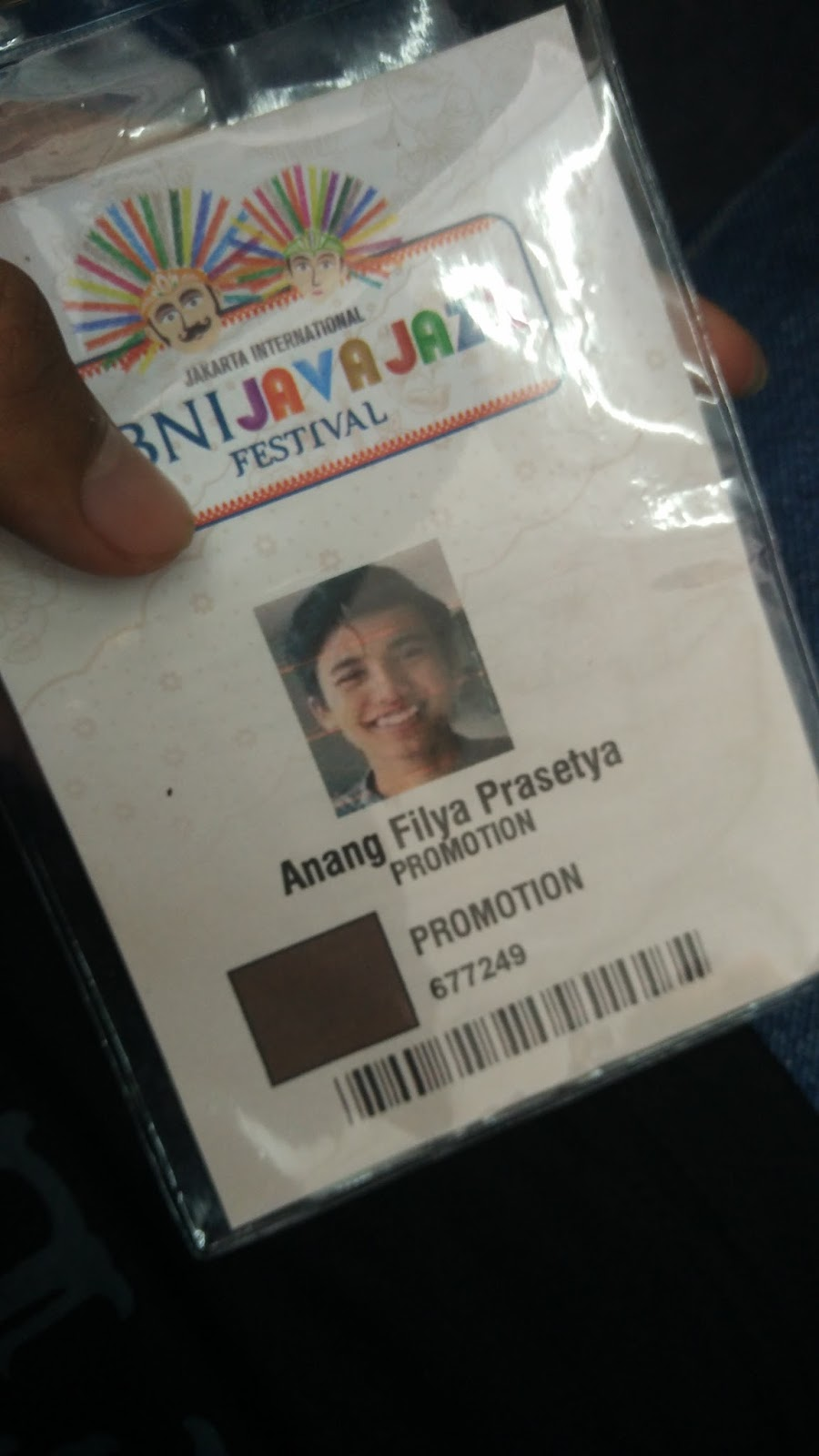 ID Card Java Jazz 2017