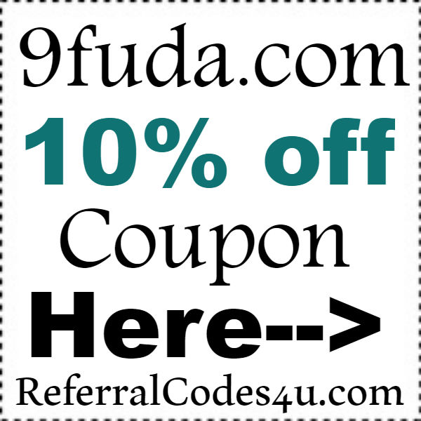 9fuda Coupon Code 2016-2021, 9fuda 10% off Promo Code October, November, December