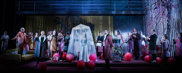 Madame Butterfly at the Royal Swedish Opera -  photo Markus Gårder
