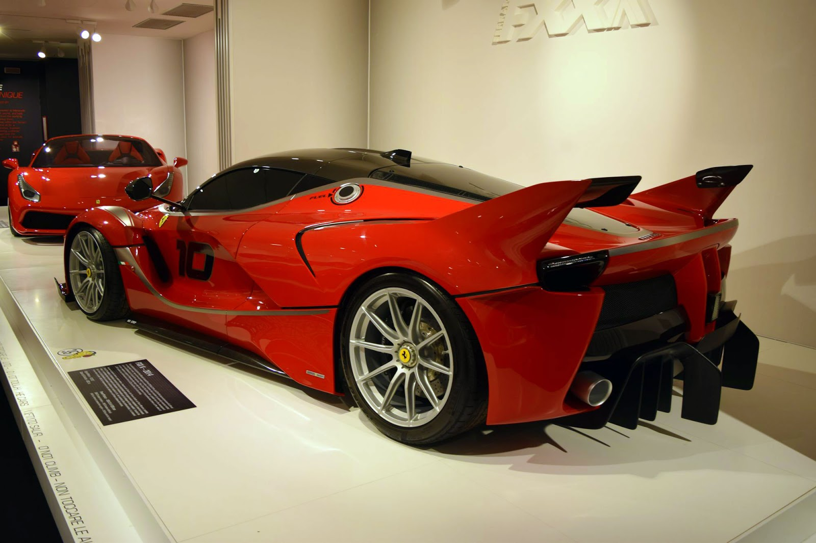 Ferrari's Special Projects Museum Display Is From Another