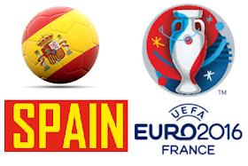 skuad spain EURO 2016