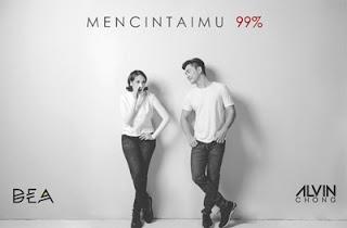Dea dan Alvin Chong Mencintaimu 99 %