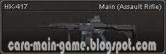 Senjata Point Blank HK-417
