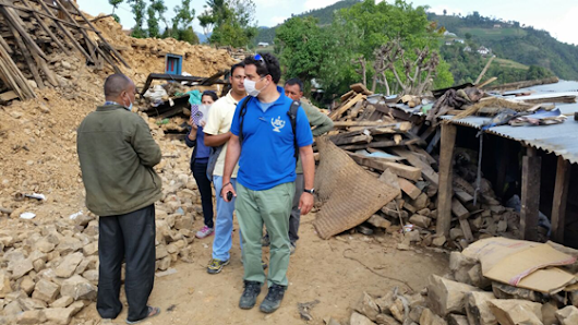Jewish in San Diego: Through JDC'S Looking Glass | Aid Distribution in Nepal