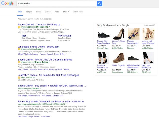 4 quảng cáo AdWords trên Google thử nghiệm Trên Kết quả tìm kiếm