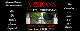 Visions blog tour poster