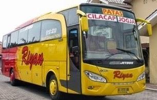 rute, tarif, dan jadwal Bus Riyan Cilacap