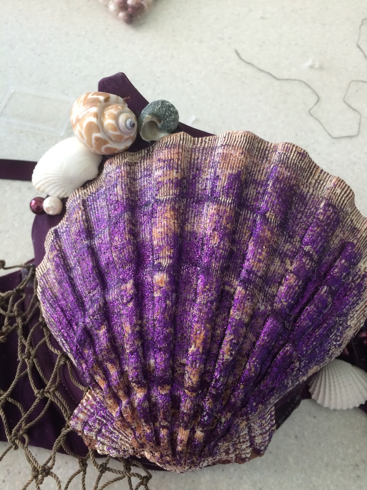 b80ca01bfd5 DIY Seashell Bra - Curated by Kirsten