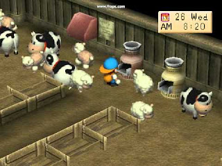 Kode Cheat Game Harvest Moon Back to Nature PS1 Lengkap