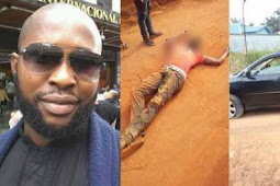 Nigerian Man Killed After Returning Home For Xmas From Abroad (See Photos)