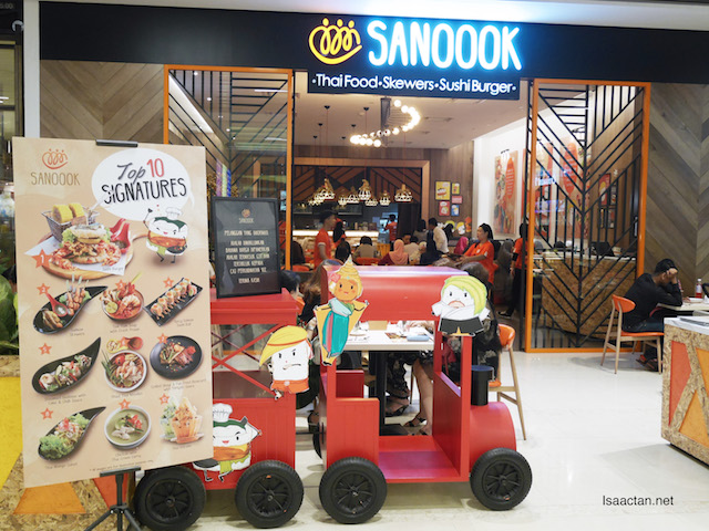 Sanoook Thai-Japanese Restaurant @ Pavilion Elite Shopping Mall