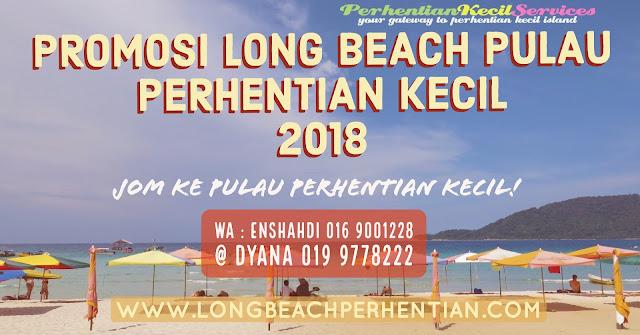 Pakej Long Beach Pulau Perhentian Kecil 2018 , Pakej Pulau Perhentian Terengganu 2018