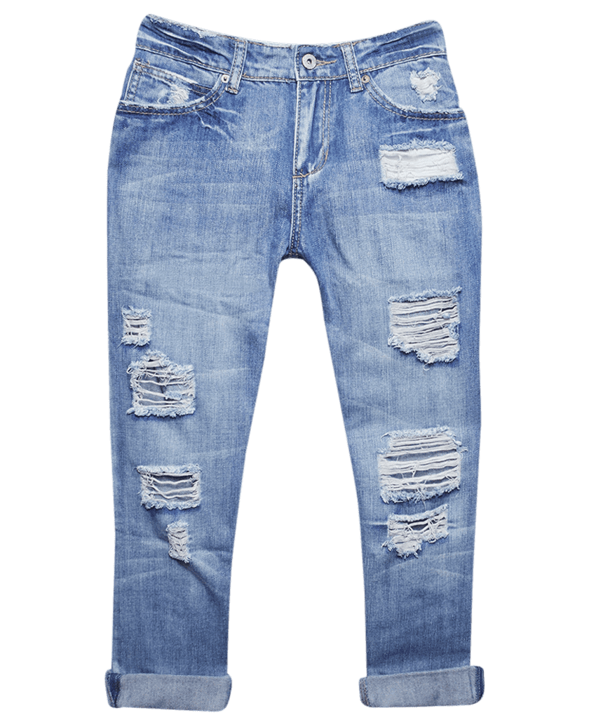 Ripped jeans clip art