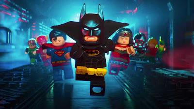 The LEGO Batman poster
