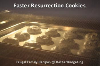 Easter resurrection cookies - photo 5
