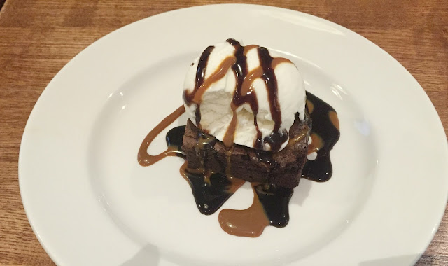 brownie pudding brewers fayre derwent crossing