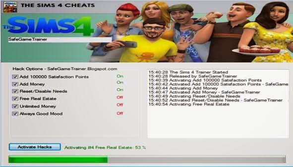 Трейнер 4 для sims 4