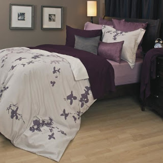 Purple bedroom ideas: Tokyo Duvet Cover Set
