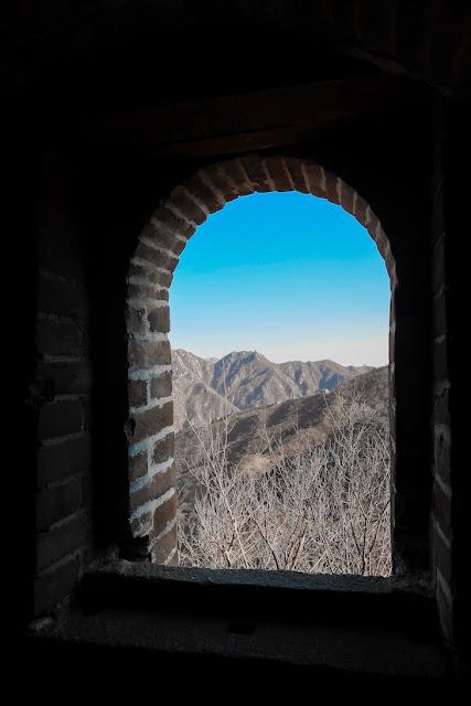 menikmati tembok china