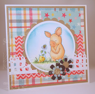 Heather's Hobbie Haven - Especially for You Petunia Card Kit