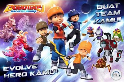 BoBoiBoy: Galactic Heroes RPG Apk Terbaru