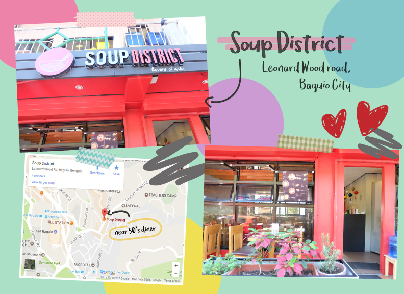 Soup District's location