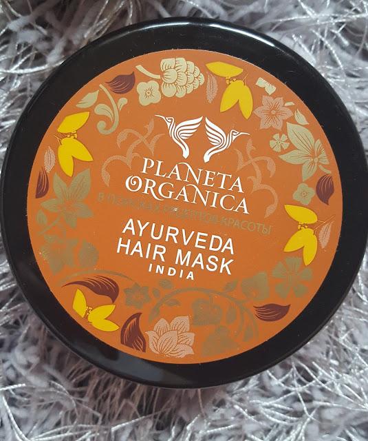 Planeta organica ajuwerdyjska maska do włosów+analiza składu