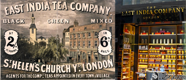 tea history, çay tarihi